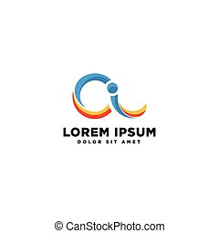Abstract Business logo template vector illustration