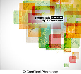 Abstract business or corporate card