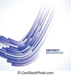 Abstract Business Technology Background