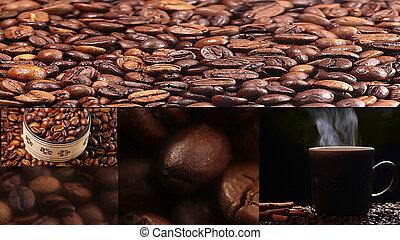 Abstract Caffeine Addiction