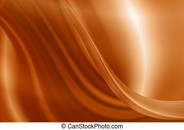 Abstract caramel background
