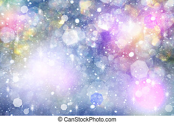 Abstract carnival backgrounds with beauty bokeh