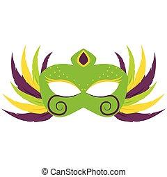 Abstract carnival mask