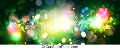 Abstract celebration backgrounds with beauty bokeh