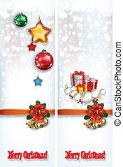 abstract celebration greetings with Christmas illustrative eleme