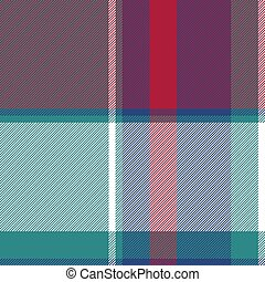 Abstract check plaid asymmetric seamless pattern. Vector...
