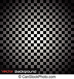 Abstract Checker Background Illustration