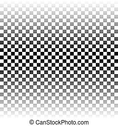 Abstract  chess pattern