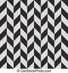 abstract chevron monochrome seamless pattern