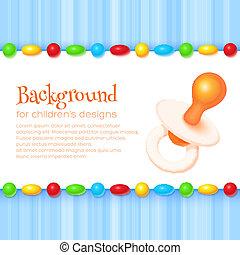 Abstract Children's Background - Abstract children's...