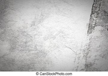 abstract, chinees, schilderij, kunst, op, grijze , papier