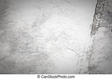 abstract Traditional Chinese painting art on grey paper texture with empty copy space, great for background, (monochrome)