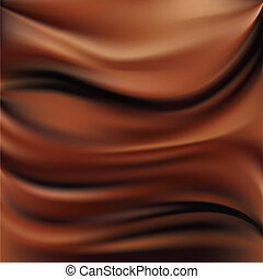 Abstract chocolate background, brown abstract satin, mesh...