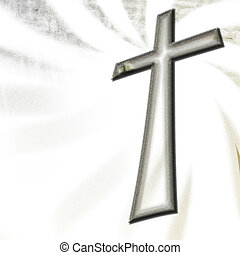 Abstract christian cross 1