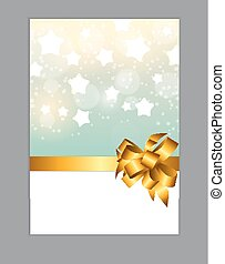 Abstract Christmas and New Year Background with Snowflakes. Vector Illustration