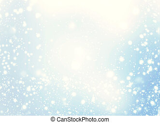 Abstract Christmas Background. Holiday Defocused Background...