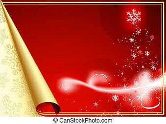 Abstract Christmas