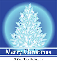Abstract Christmas background, vect