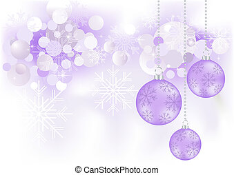 Abstract Christmas background, vector illustration