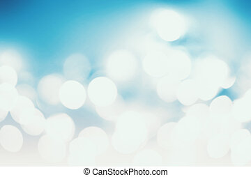 Abstract Christmas background with bokeh lights and place...