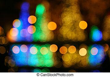 Christmas blur