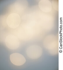 Abstract christmas bokeh background. Festive background with defocused Golden lights