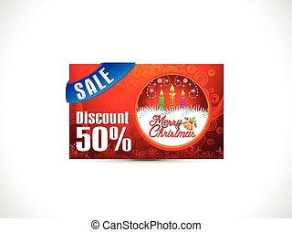 abstract christmas discount card.eps - abstract christmas...