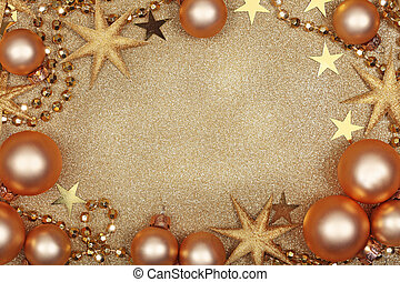 Abstract christmas golden backgroun