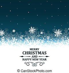 Abstract Christmas greetings