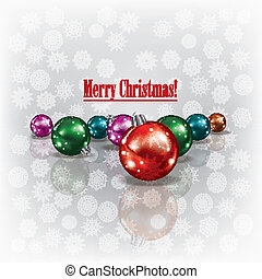Abstract christmas grunge background