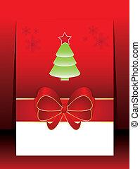 Abstract christmas holiday greeting card