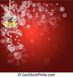 abstract christmas red vector background