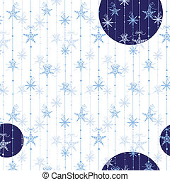Abstract Christmas seamless pattern
