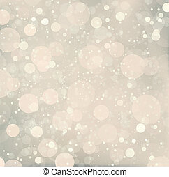 Abstract Christmas snow background. Vector