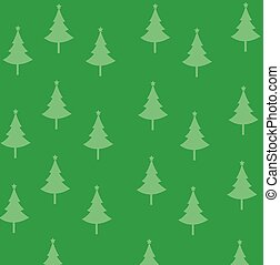 Abstract christmas trees vector illustration with colored background