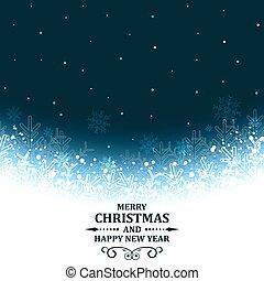 Abstract Christmas vector greeting card.