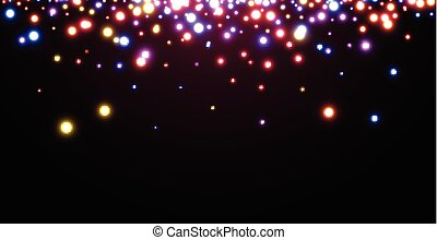 Abstract Christmas vinous luminous background. Vector ...