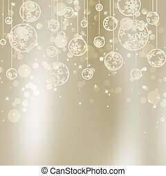 Abstract Christmas with snowflakes. EPS 8