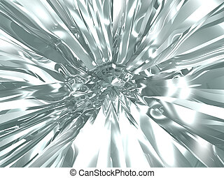 Abstract chrome background - Beautiful abstract brilliant ...