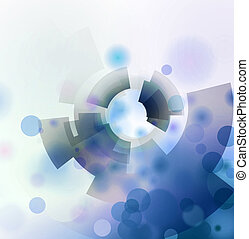 abstract circle and shapes texture background