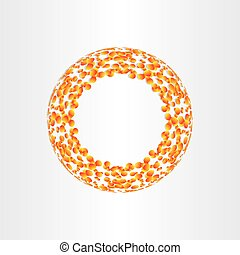 abstract circle background fusion energy