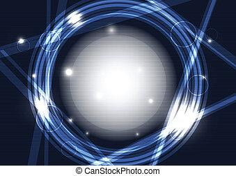 abstract circle frame