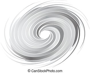 Abstract circle swirl image. Concept of hurricane, twister, tornado