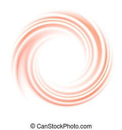Abstract circle swirl vector background with space for text