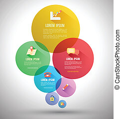 Abstract Circle template concept - Abstract business ...