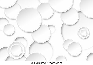 Abstract circle white color on background texture.
