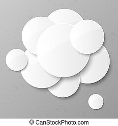 abstract, circles., achtergrond