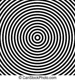 Abstract circles pattern.