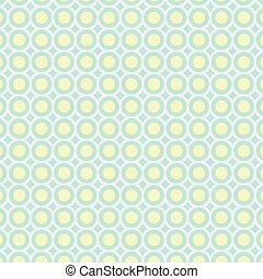 Abstract circles pattern pastel background