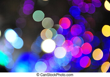 abstract, circulaire, bokeh, achtergrond